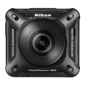 Cámara Nikon KeyMission 360º Negro (Producto Reacondicionado)
