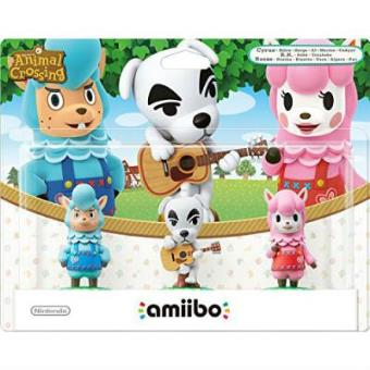 Pack 3 Figuras Amiibo Animal Crossing (Totakeke, Al, Paca)