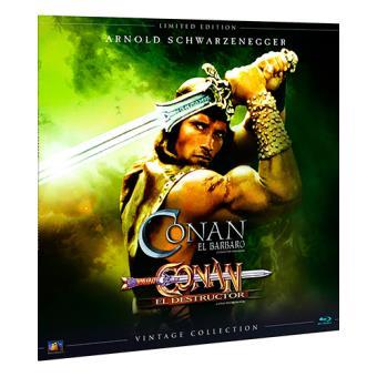 Pack Conan  Ed Limitada Vinilo - Blu-Ray