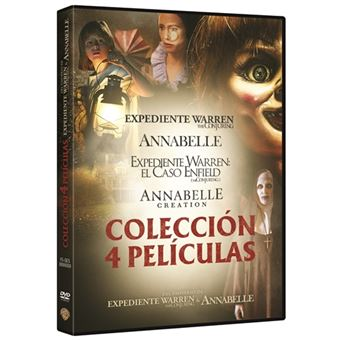 Pack Conjuring: Annabelle 1 y 2 + Expediente Warren 1 y 2