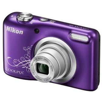Nikon Coolpix A10 purpura + Estuche Cámara digital