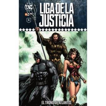 Liga de la Justicia: Coleccionable semanal núm. 04 El trono de Atlantis