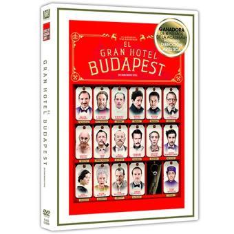 El Gran Hotel Budapest - DVD