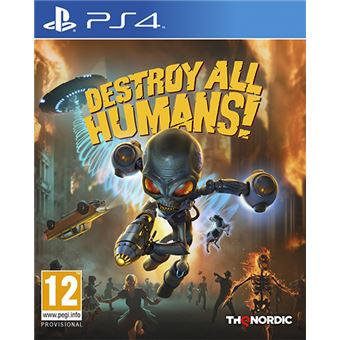 Destroy All Humans PS4