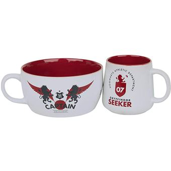 Pack Harry Potter Taza + Bol Quidditch