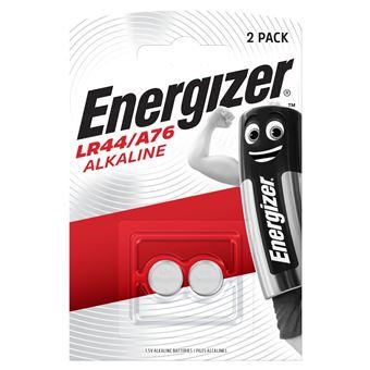 Energizer Pack 2 pilas botón LR44