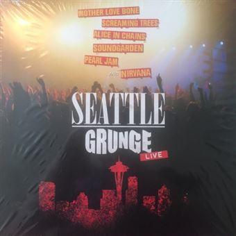 Seattle grunge live - Vinilo