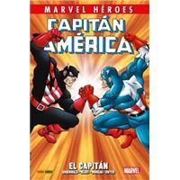 Marvel Héroes. Capitán América de Mark Gruenwald   2