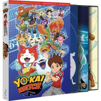 Yo-Kai Watch  - Temporada 2 Parte 1. Ep. 27 a 39 -DVD