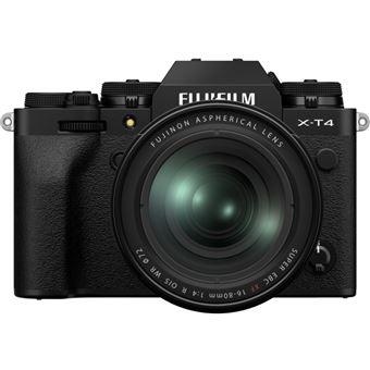 Cámara EVIL Fujifilm X-T4 + XF 16-80mm Negro