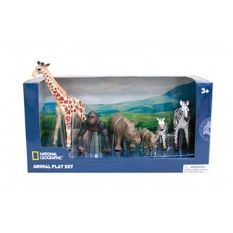 Set de 6 figuras de animales salvajes