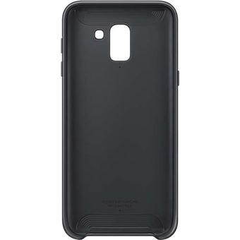 Funda Samsung Dual Layer para Galaxy J6 Negro