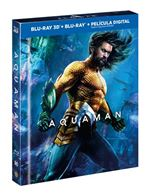 Aquaman  Ed Digibook - 3D + Blu-Ray