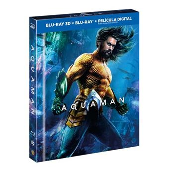 Aquaman - Ed Digibook - 3D + Blu-Ray