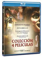 Pack Conjuring: Annabelle 1 y 2 + Expediente Warren 1 y 2 - Blue-Ray