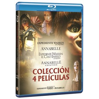Pack Conjuring: Annabelle 1 y 2 + Expediente Warren 1 y 2 - Blue-Ray