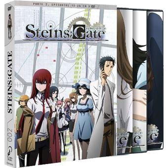 Steins Gate - Temporada 1 Parte 2 - Episodios 13 a 24 - DVD