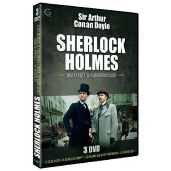 Pack Sherlock Holmes. Tras la pista de 4 misteriosos casos - DVD