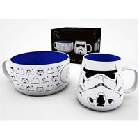 Pack Star Wars Taza + bol Stormtrooper