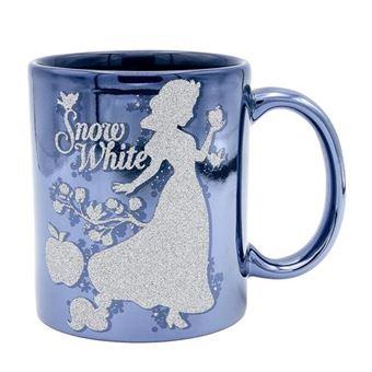 Taza Disney Blancanieves - Cenicienta con brillo
