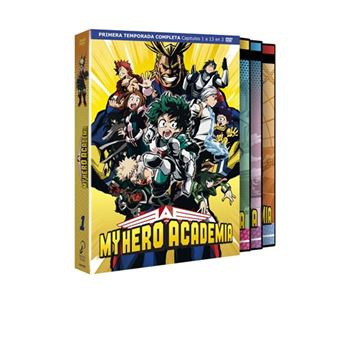 My Hero Academia Temporada 1  - DVD