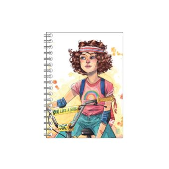 Cuaderno de anillas Cuquiland - Run like a girl
