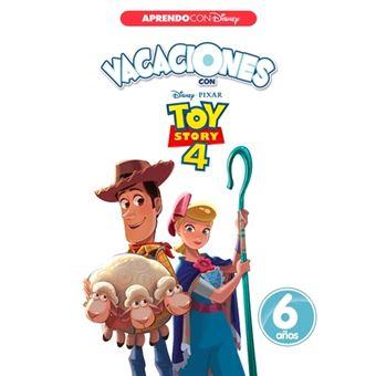 Vacaciones con Toy Story 4. 6 años (Aprendo con Disney)