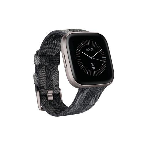 Smartwatch Fitbit Versa 2 Negro/Gris - Edición Especial