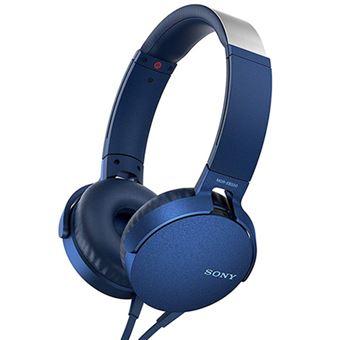 Auriculares Sony MDR-XB550AP Azul