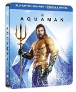 Aquaman - Steelbook 3D + Blu-Ray