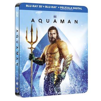 Aquaman - Steelbook 3D + Blu-Ray