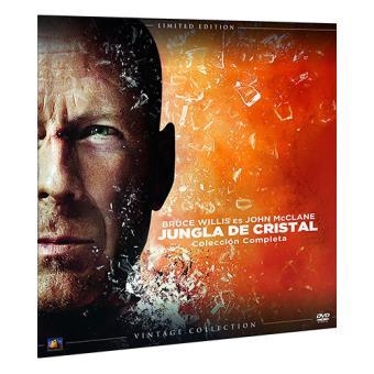 Pack Jungla de cristal - Ed Limitada Vinilo - DVD