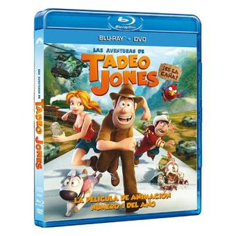 Las aventuras de Tadeo Jones - Blu-Ray + DVD