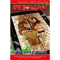 Marvel Now! Deluxe. Iron Man de Kieron Gillen  2 El origen secreto de Tony Stark