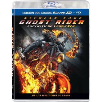 Ghost Rider 2: Espíritu de venganza - El motorista fantasma 2 - Blu-Ray + 3D