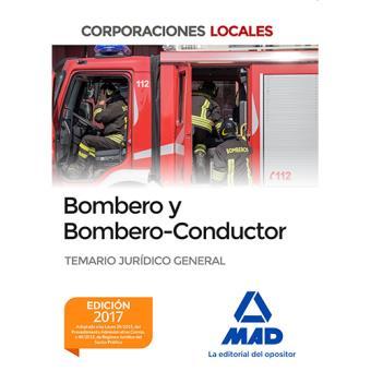 Bombero y Bombero-Conductor: Temario jurídico general