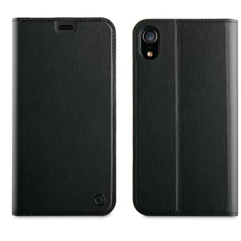 Funda folio Muvit para iPhone XR Negro