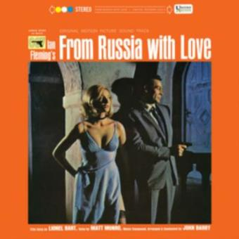 From Russia With Love B.S.O. - Vinilo