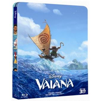 Vaiana - Steelbook Blu-Ray + 3D