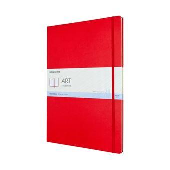 Cuaderno para bocetos Moleskine A3 rojo escarlata