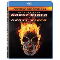 Pack Ghost Rider: El motorista fantasma + Ghost Rider 2: Espíritu de venganza - Blu-Ray