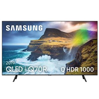 TV QLED 55'' Samsung QE55Q70R IA 4K UHD HDR Smart TV