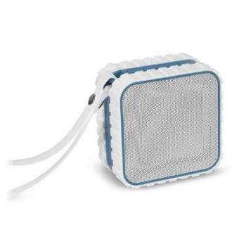 Altavoz Bluetooth 3.0 Blanco/Azul
