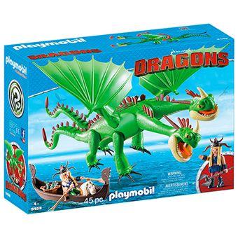 Playmobil Dragón 2 cabezas con Chusco y Brusca
