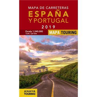 Mapa De Carreteras De Espana Y Portugal 1 340 000 2019 5 En