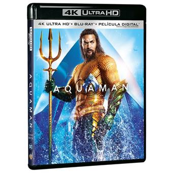 Aquaman - UHD + Blu-Ray