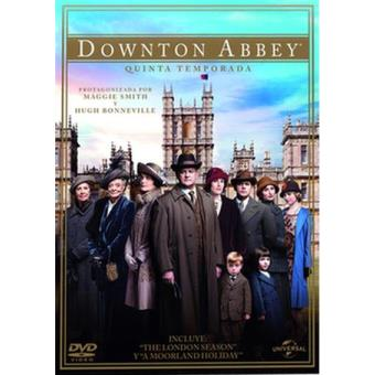 Downton AbbeyDownton Abbey  Temporada 5 - DVD