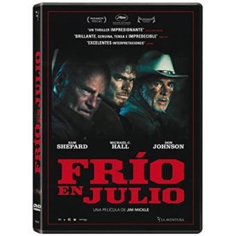 Frío en Julio - DVD