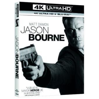 BourneJason Bourne - UHD + Blu-Ray