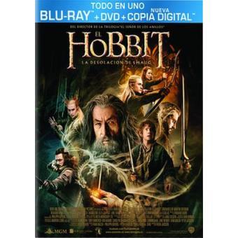 El Hobbit 2: La desolación de Smaug - Blu-Ray + DVD